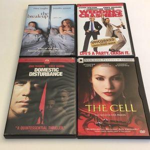 Vince Vaughn DVD Movie Bundle